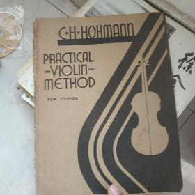 C.H.HOHMANN PRACTICAL VIOLIN METHOD