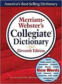 Merriam-Webster's Collegiate