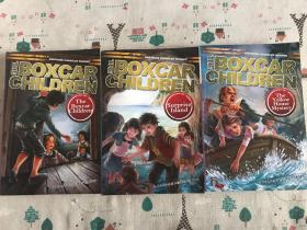 the boxcar children :1 the boxcar children 2 surprise island 3 the yellow house mystery 棚车少年 英文版
