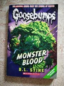 Monster Blood(Classic Goosebumps #03)鸡皮疙瘩经典3:魔兽血