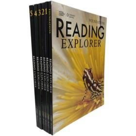 国家地理  Reading Explorer student's book 全彩共6册