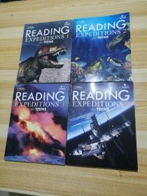 READING EXPEDITIONS  for TEENS 1,2,3,4【4册合售】