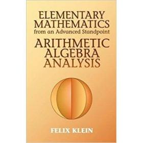Elementary Mathematics from an Advanced Standpoint: Arithmet