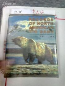 拍 260a3&2516英文原版 精装 馆藏 大16开BOONE & CROCKETT Trophy Hunter Hunting Big Game Hunt Records Big-Game Book
