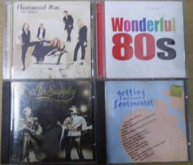 FLEETWOOD MAC WONDERFUL 80S GETTING SENTIMENTAL AIR SUPPLY 天龙版 旧版 港版 原版 绝版 CD