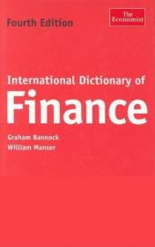International Dictionary Of Finance, Fourth Edition