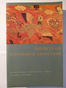 Sources of Vietnamese Tradition(Introduction To Asian Civilizations)