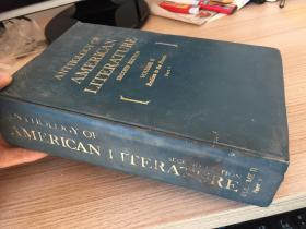 ANTHOLOGY OF AMERICAN LITERATURE-second edition 美國文學選集(第二版) 卷2-1