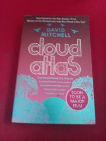 DAVID MITCHELL : cloud aHas (英文原版)