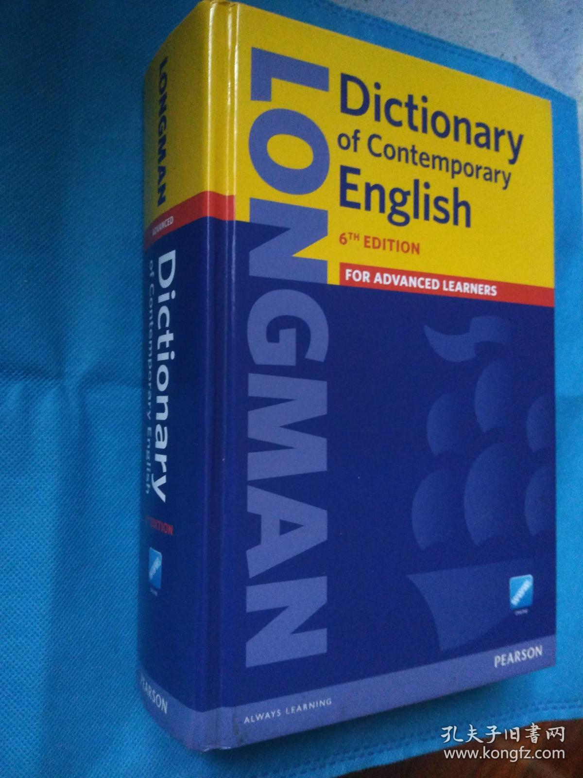 Longman Dictionary of Contemporary English for Advanced Learners, 6th Edition (Sixth Edition 2014) 朗文当代英语词典 第六版 英文原版 精装本