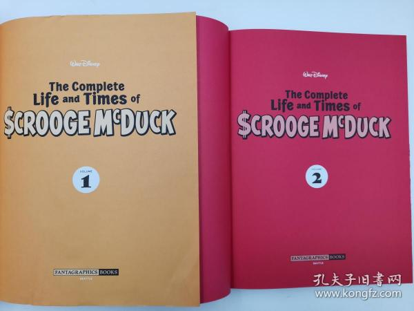 The Complete Life and Times of Scrooge McDuck Volume 1+volume 2