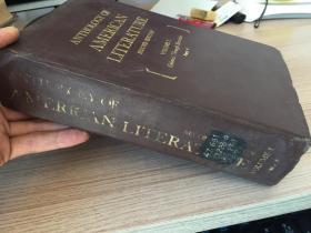 ANTHOLOGY OF AMERICAN LITERATURE-second edition 美國文學選集(第二版) 卷1