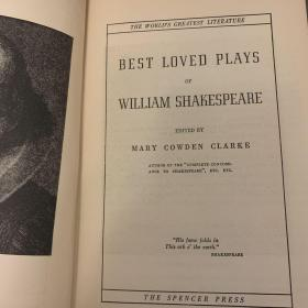 Best Loved Plays of William Shakespear
