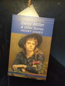 Daisy Miller & Other Stories(Wordsworth Classics)戴茜.米勒和其他故事 9781853262135