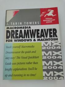 Macromedia Dreamweaver MX 2004 for Windows & Macintosh