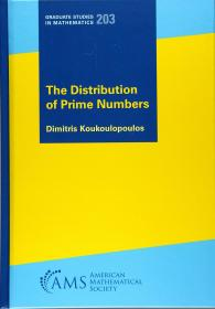 预订2周到货  The Distribution of Prime Numbers (Graduate Studies in Mathematics)  英文原版  素数分布 质数的分布