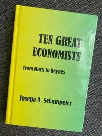 现货 Ten Great Economists