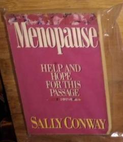 英文原版 Menopause: Help and Hope for This Passage by Sally Conway 著
