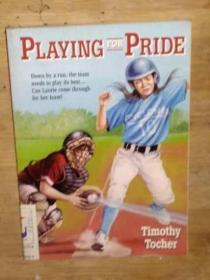 英文原版 Playing for pride by Timothy Tocher 著