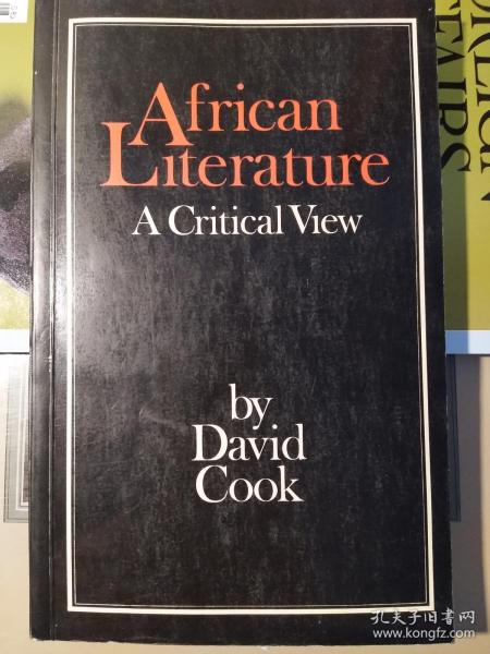 African Literature: A Critical View