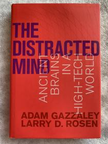现货 The Distracted Mind: Ancient Brains in a High-Tech World (The MIT Press)   英文原版