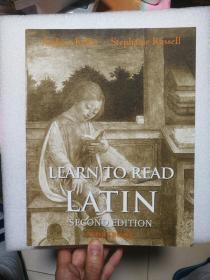 Learn to Read Latin, Second Edition (Workbook  ) 英文原版  Stephanie Russell 如何学拉丁语
