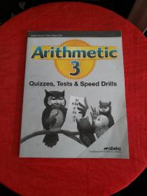 Arithmetic 3(Quizzes,Tests & Speed Drills)前26页被撕!!!!!