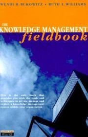 The Knowledge Management Fieldbook