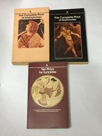 【英文原版】(Bantam Classics)The Complete Plays of Aristophanes、The Complete Plays of Sophocles、Ten Plays by Euripides 阿里斯托芬戏剧全集、索福克勒斯全集、欧里庇得斯戏剧十部(古希腊戏剧3本合售)