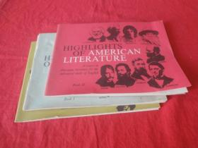 HIGHLIGHTS OF AMERICAN LITERATURE(3本合售)
