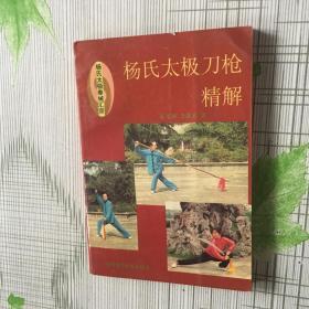 杨氏太极拳械汇宗:杨氏太极刀枪精解