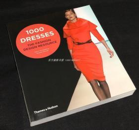 现货 1000 Dresses: The Fashion Design Resource