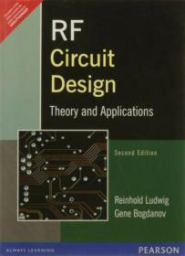 RF Circuit Design : Theory and Applications by Pavel Bretchko, Gene Bogdanov .