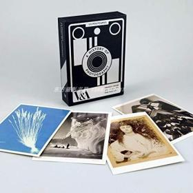 现货 A History of Photography: 50 Postcards Card Book