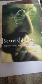 英文原版 Secrets and Lies: Digital Security in a Networked World