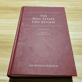THE REAL ESTATE LAW REVIEW(THIRD Edition)房地产法律审查 第3版