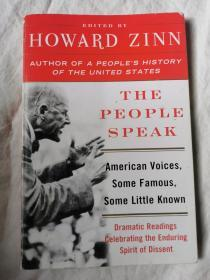 The People Speak: American Voices Some Famous Some Little Known【英文原版 毛边本 大32开 2004年印刷 看图见描述】