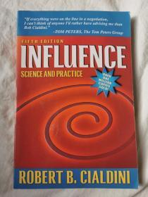 Influence:Science and Practice (Fifth Edition )【英文原版 小16开 2001年印刷 看图见描述】