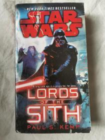 Star Wars: Lords of the Sith【英文原版 32开 2016年一印】