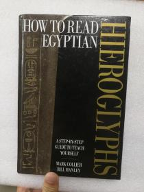 现货 How to Read Egyptian Hieroglyphs: A step-by-step guide to teach yourself Mark Collier 英文原版 如何阅读埃及象形文字:分步自学指南
