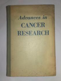 Advances   in   CANCER   RESEARCH(Volume   IV),癌症研究的进展(第四卷)。
