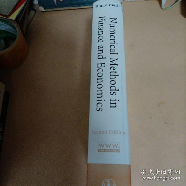Numerical Methods in Finance and Economics:A MATLAB-Based Introduction (Statistics in Practice)书角有点破损       C3