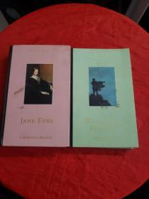 Jane Eyre+Wuthering Heights(精装英文原版,2册合售,上角点点水渍)