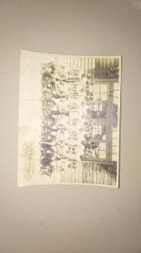 民國蛋白照《水產陸軍飛行學校高級終業紀念照》詳情見圖