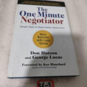 The One Minute Negotiator: Simple Steps to Reach Better Agreements  一分钟谈判