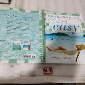 Crosswords Over Easy[Spiral-bound]