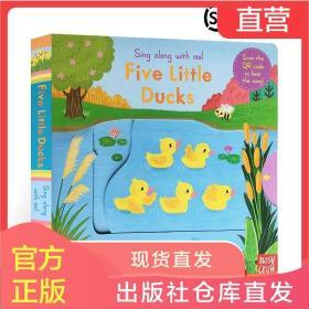 进口英文原版绘本Sing Along with Me系列 Five Little Ducks