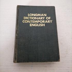 LONGMAN DICTIONARY OF CONTEMPORARY