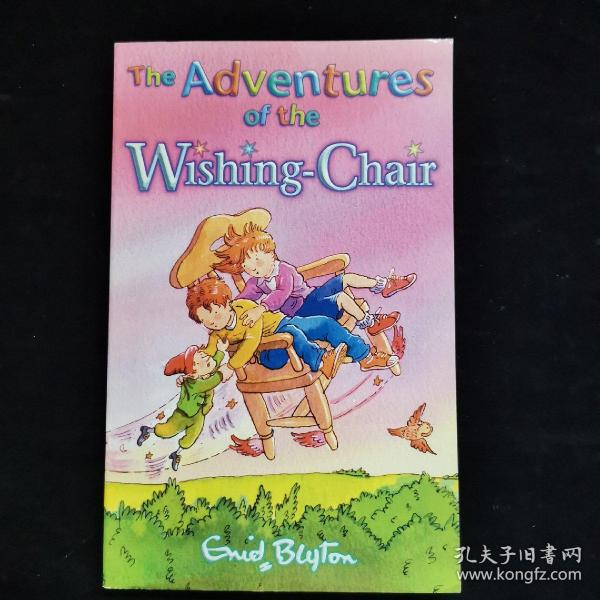 英文原版 THE ADVENTURES OF THE WISHING-CHAIR