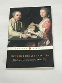 【英文原版】The School for Scandal and Other Plays (Penguin Classics) 造遥学校和其它戏剧